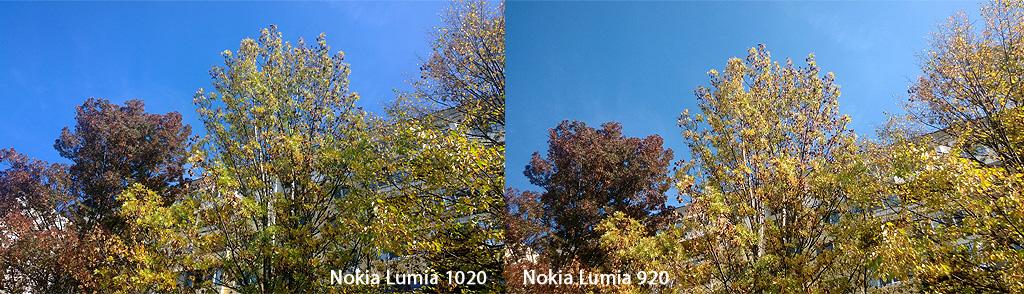 Lumia 1020 vs Lumia 920 Camera