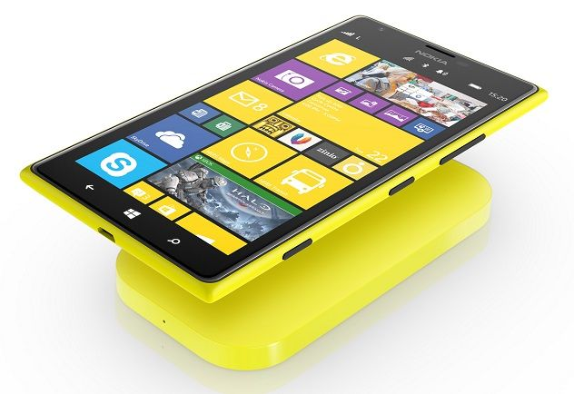 Nokia Lumia 1520 wireless charging