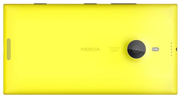 Nokia Lumia 1520 back
