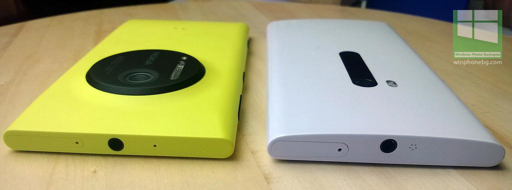 Nokia Lumia 920 и Nokia Lumia 1020