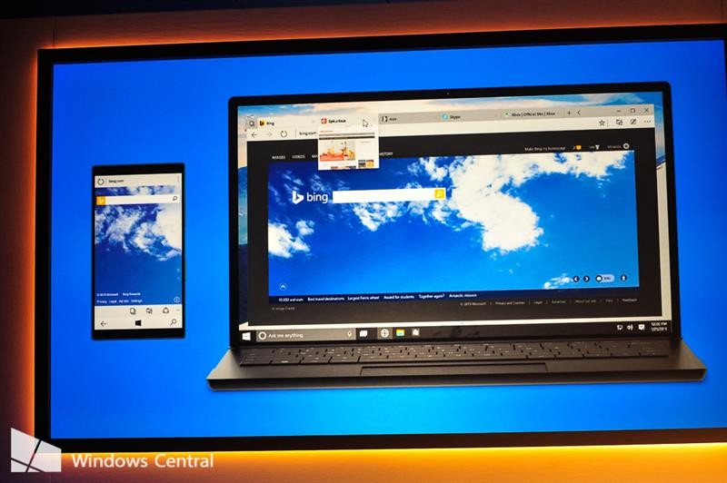 Microsoft debuts Project Spartan, a new web browser for Windows 10